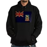 Falkland Islands Flag Hoodie (dark)