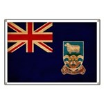 Falkland Islands Flag Banner