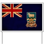 Falkland Islands Flag Yard Sign