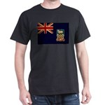 Falkland Islands Flag Dark T-Shirt