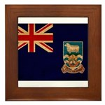 Falkland Islands Flag Framed Tile