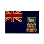 Falkland Islands Flag Rectangle Magnet (100 pack)