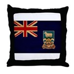 Falkland Islands Flag Throw Pillow