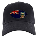 Falkland Islands Flag Black Cap