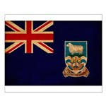 Falkland Islands Flag Small Poster