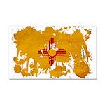 New Mexico Flag Car Magnet 20 x 12