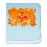 New Mexico Flag baby blanket
