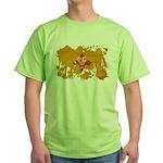 New Mexico Flag Green T-Shirt
