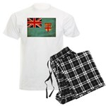 Fiji Flag Men's Light Pajamas