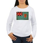 Fiji Flag Women's Long Sleeve T-Shirt
