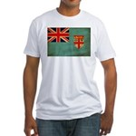 Fiji Flag Fitted T-Shirt