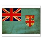 Fiji Flag Small Poster