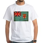 Fiji Flag White T-Shirt