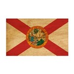 Florida Flag 38.5 x 24.5 Wall Peel