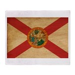 Florida Flag Throw Blanket