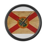 Florida Flag Large Wall Clock