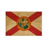 Florida Flag Rectangle Magnet (10 pack)