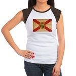 Florida Flag Women's Cap Sleeve T-Shirt