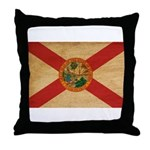 Florida Flag Throw Pillow
