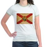 Florida Flag Jr. Ringer T-Shirt