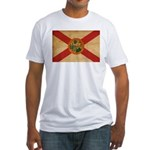 Florida Flag Fitted T-Shirt
