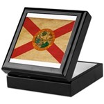 Florida Flag Keepsake Box