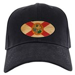 Florida Flag Black Cap