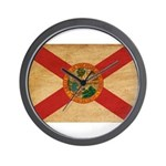 Florida Flag Wall Clock