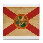 Florida Flag Tile Coaster