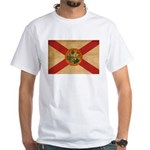 Florida Flag White T-Shirt