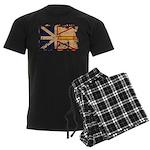 Newfoundland Flag Men's Dark Pajamas