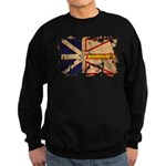 Newfoundland Flag Sweatshirt (dark)