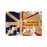 Newfoundland Flag Rectangle Magnet