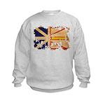 Newfoundland Flag Kids Sweatshirt