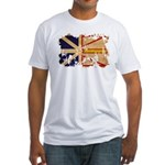 Newfoundland Flag Fitted T-Shirt