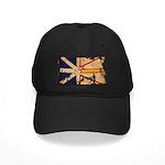 Newfoundland Flag Black Cap
