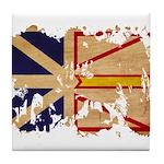Newfoundland Flag Tile Coaster