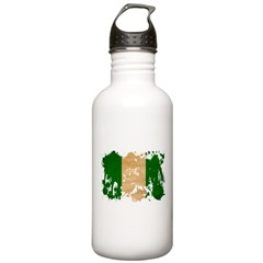 Nigeria Flag Stainless Water Bottle 1.0L
