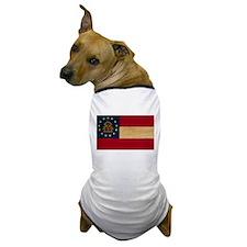 Georgia Flag Dog T-Shirt