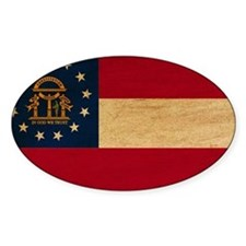 Georgia Flag Decal