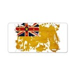 Niue Flag Aluminum License Plate