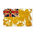 Niue Flag 22x14 Wall Peel