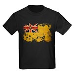 Niue Flag Kids Dark T-Shirt