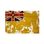 Niue Flag Rectangle Magnet