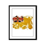 Niue Flag Framed Panel Print
