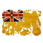 Niue Flag Postcards (Package of 8)