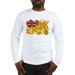 Niue Flag Long Sleeve T-Shirt