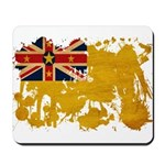 Niue Flag Mousepad