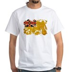 Niue Flag White T-Shirt