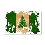 Norfolk Island Flag Car Magnet 20 x 12